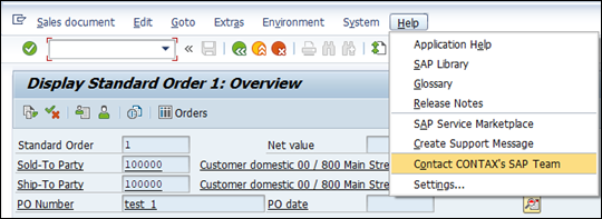 New Help Menu in SAP For Support